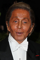 "NEW YORK CITY, NY, USA - MAY 05: Valentino Garavani at the ""Charles James: Beyond Fashion"" Costume Institute Gala held at the Metropolitan Museum of Art on May 5, 2014 in New York City, New York, United States. (Photo by Xavier Collin/Celebrity Monitor)"