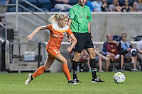 Bridgeview, IL - Saturday July 23, 2016:  Houston Dash midfielder Denise O'Sullivan (13) during a regular season National Women's Soccer League (NWSL) match between the Chicago Red Stars and the Houston Dash at Toyota Park.