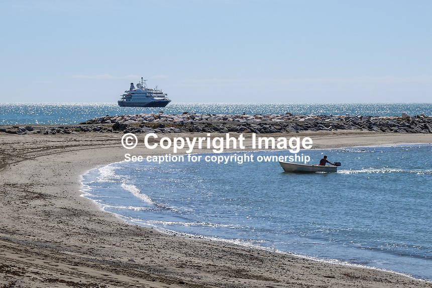Cruise ship, Sea Dream 1, moored off Puerto Banus, Marbella, Spain, 30th April 2017, 201704303530<br /><br />Copyright Image from Victor Patterson, 54 Dorchester Park, Belfast, UK, BT9 6RJ<br /><br />t1: +44 28 9066 1296 (from Rep of Ireland 048 9066 1296)<br />t2: +44 28 9002 2446 (from Rep of Ireland 048 9002 2446)<br />m: +44 7802 353836<br /><br />e1: victorpatterson@me.com<br />e2: victorpatterson@gmail.com<br /><br />The use of any of my copyright images is subject to my Terms &amp; Conditions. It is IMPORTANT that you familiarise yourself with them. They are available at my website, victorpatterson.com.<br /><br />None of my copyright images may be used on the Internet unless they are visibly watermarked, i.e. &copy; Victor Patterson within the body of the image. My metadata, denoting my copyright must NOT be deleted. <br /><br />Web use is extra at currently recommended NUJ rates. Maximum permitted web size is<br /> 400kb. <br /><br />Images must not be passed on to a third party - they are for the use of the authorised recipient only.