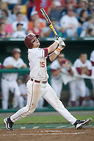 Florida State's Holt, Tyler 2491.jpg against TCU at the College World Series on June 23rd, 2010 at Rosenblatt Stadium in Omaha, Nebraska.  (Photo by Andrew Woolley / Four Seam Images)