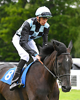 Culdrose ridden by Louis Steward goes down to the start  of The Dee Wilks Against The Odds Confined Novice Stakes (Div 1) during Afternoon Racing at Salisbury Racecourse on 12th June 2018