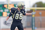 Torrance, CA 10/05/11 - Garrett Nelsen (Peninsula #88) in action during the Peninsula vs South Torrance Junior Varsity football game.