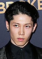 HOLLYWOOD, LOS ANGELES, CA, USA - DECEMBER 15: Miyavi, Takamasa Ishihara arrives at the Los Angeles Premiere Of Universal Pictures' 'Unbroken' held at the Dolby Theatre on December 15, 2014 in Hollywood, Los Angeles, California, United States. (Photo by Xavier Collin/Celebrity Monitor)