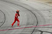 #18: Kyle Busch, Joe Gibbs Racing, Toyota Camry Skittles Red White & Blue celebrates