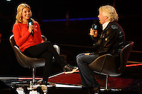 Holly and Sir Richard Branson at the We Day UK 2014 at Wembley Arena,  London. 07/03/2014 Picture by: Steve Vas / Featureflash