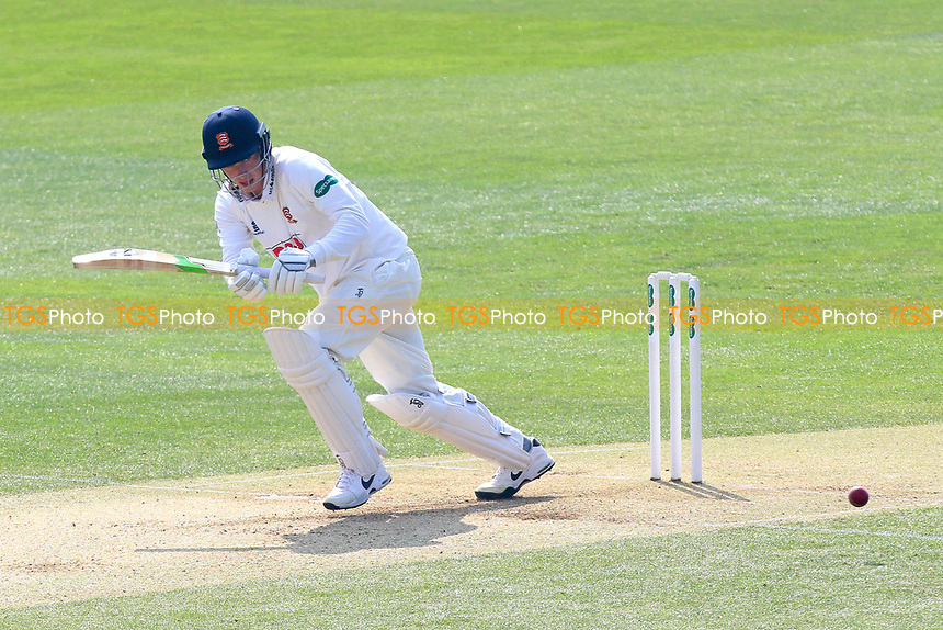 Daniel Lawrence in batting action for Essex during Essex CCC vs Lancashire CCC, Specsavers County Championship Division 1 Cricket at The Cloudfm County Ground on 8th April 2017
