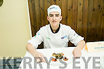 Ryan Broderick from St Patricks Secondary School, Castleisland  at the ITT Apprentice Chef finals on Friday