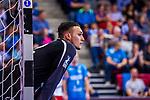 HANEMANN, Stefan (#72 DIE EULEN LUDWIGSHAFEN) \ beim Spiel in der Handball Bundesliga, TVB 1898 Stuttgart - Die Eulen Ludwigshafen.<br /> <br /> Foto &copy; PIX-Sportfotos *** Foto ist honorarpflichtig! *** Auf Anfrage in hoeherer Qualitaet/Aufloesung. Belegexemplar erbeten. Veroeffentlichung ausschliesslich fuer journalistisch-publizistische Zwecke. For editorial use only.