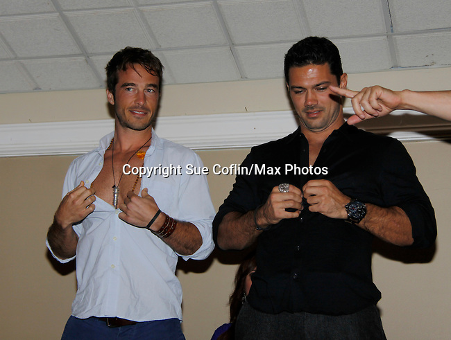 Live Auction - Ryan Carnes - Ryan Paivey  -  Actors from General Hospital donated their time to Southwest Florida 16th Annual SOAPFEST - a celebrity weekend May 22 thru May 25, 2015 benefitting the Arts for Kids and children with special needs and ITC - Island Theatre Co. as it presented A Night of Stars on May 23 , 2015 at Bistro Soleil, Marco Island, Florida. (Photos by Sue Coflin/Max Photos)