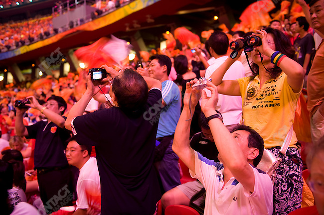 Closing ceremonies, National Stadium, Summer Olympics, Beijing, China, August 24, 2008