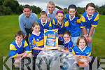 Representatives of Glenflesk GAA club will be collecting old clothes from local houses in the parish to help raise funds for the club's juvenile division. .Front L-R Damien Switzer, Ellen Hickey, Maeve Tagney and Collette Murphy. .Back L-R Principal of Glenflesk National School, Paul Favier, Jack O'Leary, Chairman of Glenflesk GAA club, Denis Murphy, Kate Hickey, Caoimhe O'Sullivan and Amy Lucey.