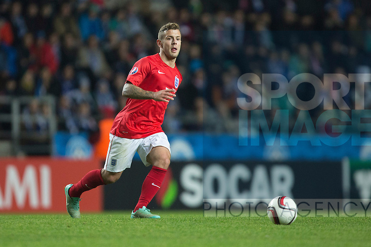 Jack Wilshere of England - Estonia vs. England - UEFA Euro 2016 Qualifier - A. Le Coq Arena - Tallinn - 12/10/2014 Pic Philip Oldham/Sportimage