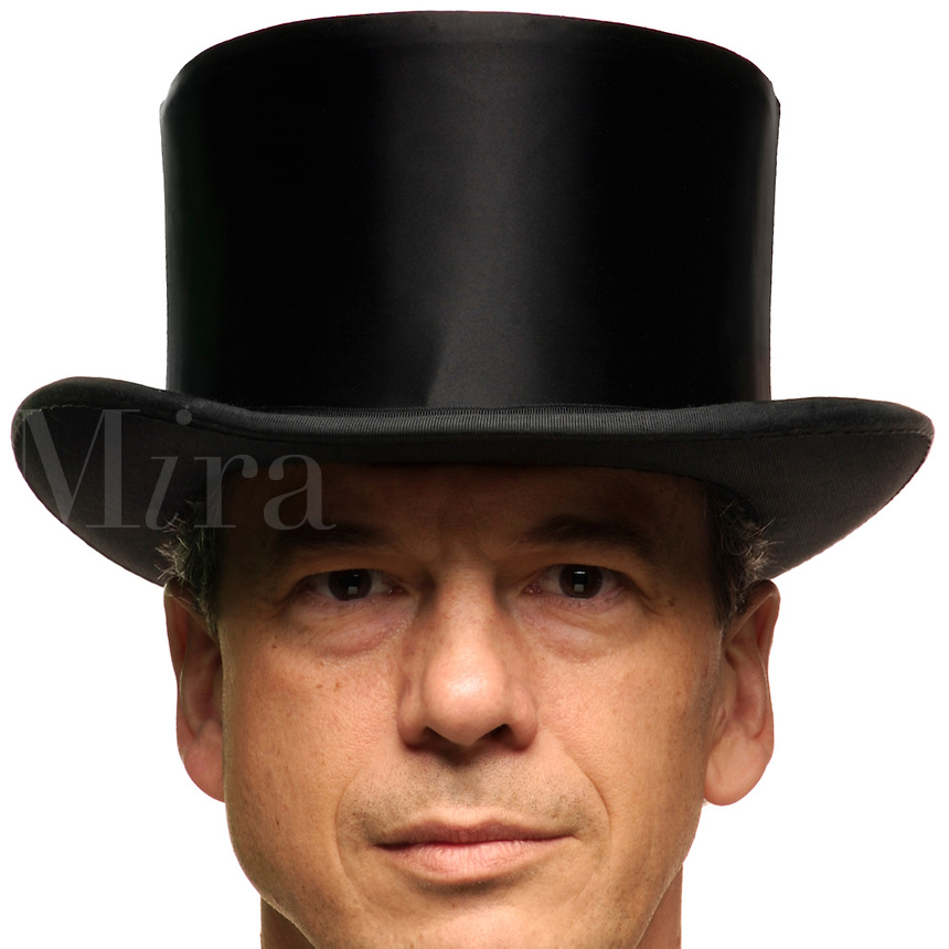 Man in tophat.