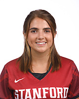 STANFORD, CA - August 16, 2019: Emily Surgent on Field Hockey Photo Day.