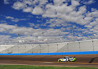 Nov. 13, 2009; Avondale, AZ, USA; NASCAR Sprint Cup Series driver Carl Edwards during practice for the Checker O'Reilly Auto Parts 500 at Phoenix International Raceway. Mandatory Credit: Mark J. Rebilas-