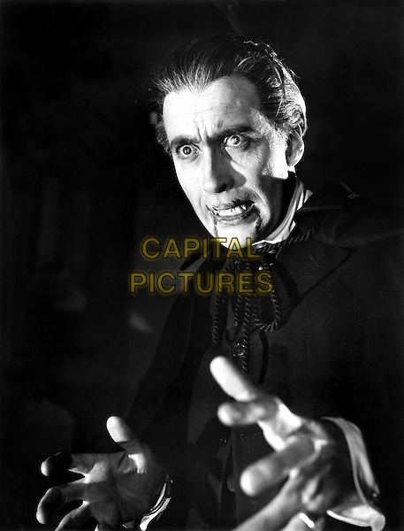 Christopher Lee.in Horror of Dracula.*Filmstill - Editorial Use Only*.CAP/PLF.Supplied by Capital Pictures.