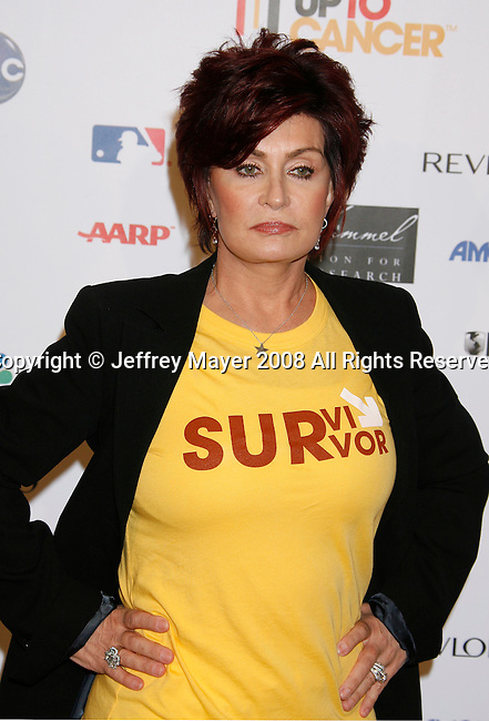 HOLLYWOOD, CA. - September 05: Sharon Osbourne arrives at Stand Up For Cancer at The Kodak Theatre on September 5, 2008 in Hollywood, California.