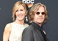***FILE PHOTO*** Felicity Huffman and Lori Loughlin Indicted in College Admission Bribery Case.<br /> LOS ANGELES, CA - SEPTEMBER 18: (L-R) Felicity Huffman and William H. Macy arrive at the 68th Emmy Awards at the Microsoft Theater on Sunday, September 18, 2016, in Los Angeles, California. Credit: mpi99/MediaPunch<br /> CAP/MPI99<br /> &copy;MPI99/Capital Pictures