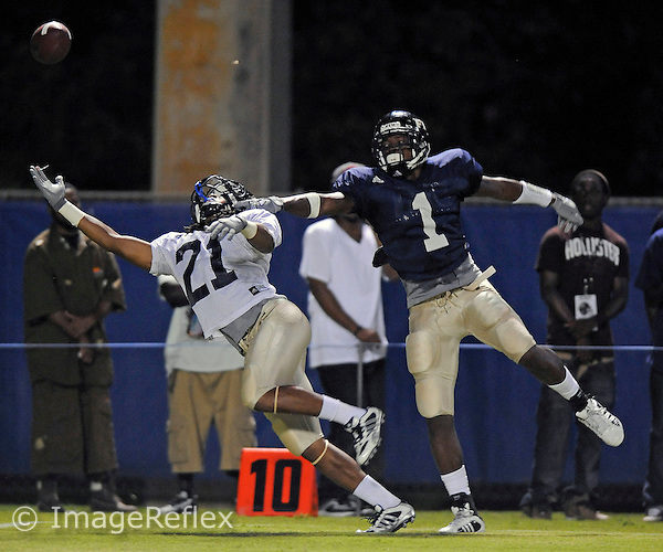 18 April 2008: Florida International University Spring Football Game at Miami, Florida..