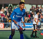 UTRECHT -  Terrance Pieters (Kampong)  tijdens  de hoofdklasse hockeywedstrijd mannen, Kampong-Amsterdam (4-3).  COPYRIGHT KOEN SUYK