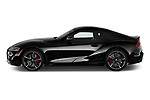 Car Driver side profile view of a 2020 Toyota GR-Supra Premium 2 Door Coupe Side View
