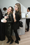 Adriene Deluccio (left) and Jenny Cogan  attend the 3rd Annual Wives' Holiday Soiree at Totokaelo in SOHO on December 9, 2015.