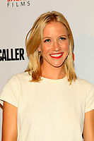 "LOS ANGELES - AUG 15:  Jessy Schram at the ""Shot Caller"" Premiere at The Theatre at Ace Hotel on August 15, 2017 in Los Angeles, CA"