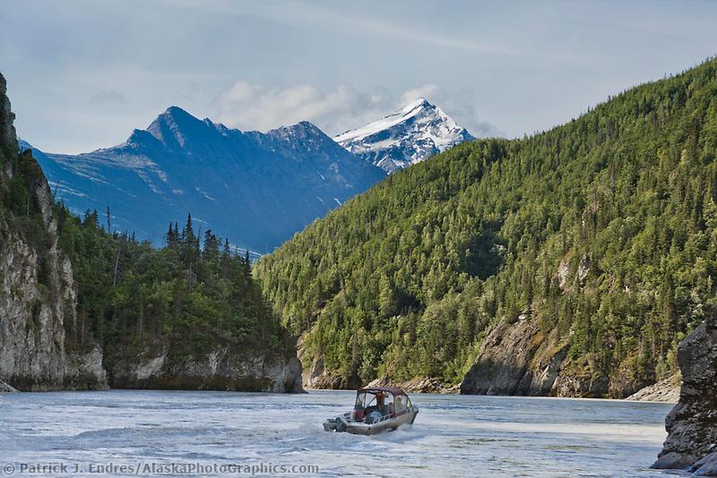 Copper river canyon, Chugach mountains, southcentral, Alaska.