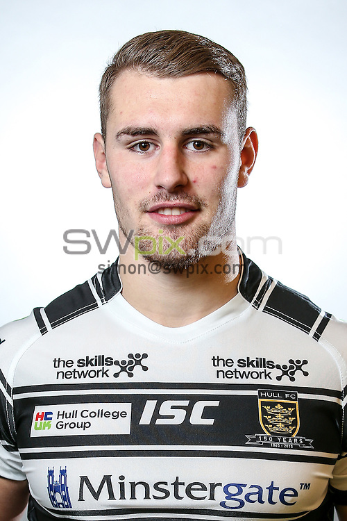 Picture by Alex Whitehead/SWpix.com - 24/01/2015 - Rugby League - First Utility Super League - Hull FC Headshots - KC Stadium, Hull, England - Jansin Turgut
