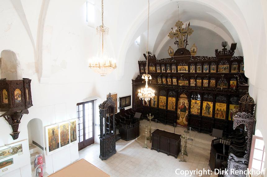 Nordzypern, Ikonen-Museum von Girne (Kyrenia, Keryneia) in der ehemaligen Kirche des Erzengels Michael