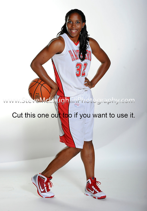 University of Hartford 209-2010 Women's Basketball Team shots.