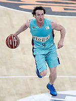FC Barcelona Regal's Marcelinho Huertas during Spanish Basketball King's Cup semifinal match.February 07,2013. (ALTERPHOTOS/Acero)