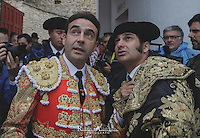 Bullfighters: Enrique Ponce and Morante de la Puebla