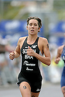 09 MAY 2004 - FUNCHAL, MADEIRA - Sandra Soldan (BRA) - Elite Womens World Triathlon Championships. (PHOTO (C) NIGEL FARROW)