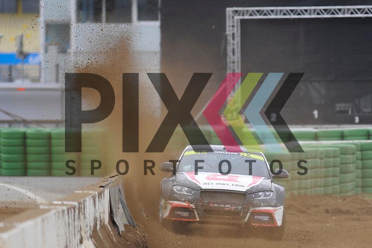 # 55 Alx Danielsson ALL-INKL.com M&uuml;nnich Motorsport  beim Rallycross auf dem Hockenheimring.<br /> <br /> Foto &copy; P-I-X.org *** Foto ist honorarpflichtig! *** Auf Anfrage in hoeherer Qualitaet/Aufloesung. Belegexemplar erbeten. Veroeffentlichung ausschliesslich fuer journalistisch-publizistische Zwecke. For editorial use only.