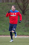 Kirk Broadfoot back on the training field