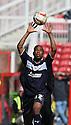 Miguel Comminges of Stevenage. Swindon Town v Stevenage - npower League 1 -  County Ground, Swindon - 20th April, 2013. © Kevin Coleman 2013..