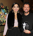 Ana Villafane - Mauricio Martinez - 30th Anniversary of the Jane Elissa Extravaganza to benefit The Jane Elissa Charitable Fund for Leukemia & Lymphoma Cancer, Broadway Cares & other charities on October 30. 2017 at the New York Marriott Marquis, New York, New York. (Photo by Sue Coflin/Max Photo)