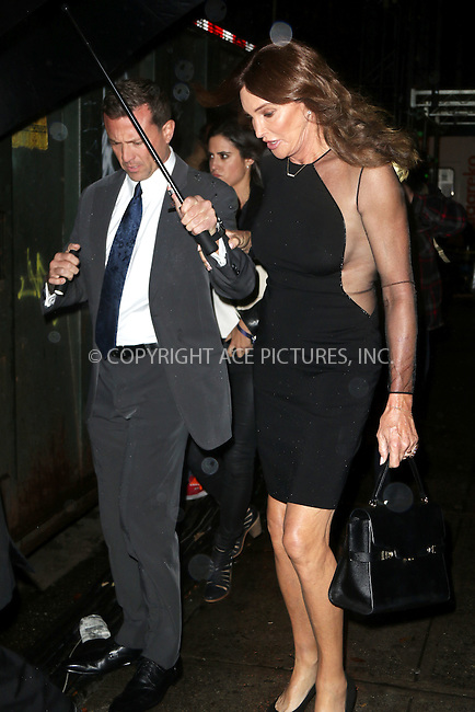 WWW.ACEPIXS.COM<br /> <br /> November 10 2015, New York City<br /> <br /> Caitlyn Jenner battles the wind and the rain as she leaves the Victoria's Secret Runway show on November 10 2015 in New York City<br /> <br /> By Line: Zelig Shaul/ACE Pictures<br /> <br /> <br /> ACE Pictures, Inc.<br /> tel: 646 769 0430<br /> Email: info@acepixs.com<br /> www.acepixs.com