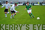 Soccer match between Ireland and Germany under 16 at Pat kennedy Park, Listowel, on Thursday. ..   Copyright Kerry's Eye 2008