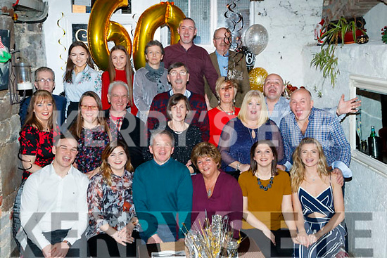 David Tough, Cahermoneen, Tralee, who celebrated his 60th Birthday at An Croí restaurant, Tralee, on Friday night last.