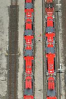 Rangierbahnhof Maschen: EUROPA, DEUTSCHLAND, NIEDERSACHSEN, MASCHEN, (EUROPE, GERMANY), 8.06.2013: Die Voith Gravita ist eine dieselhydraulische Lokomotive mit Mittelfuehrerhaus von Voith.