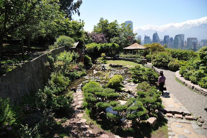 Jardín japonés / Cerro San Cristóbal (Santiago de Chile).