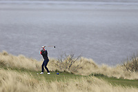 David McAleenon (Edenmore) during the first round of matchplay at the 2018 West of Ireland, in Co Sligo Golf Club, Rosses Point, Sligo, Co Sligo, Ireland. 01/04/2018.<br /> Picture: Golffile | Fran Caffrey<br /> <br /> <br /> All photo usage must carry mandatory copyright credit (&copy; Golffile | Fran Caffrey)