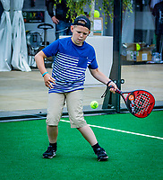 Den Bosch, Netherlands, 14 June, 2018, Tennis, Libema Open, padel<br /> Photo: Henk Koster/tennisimages.com