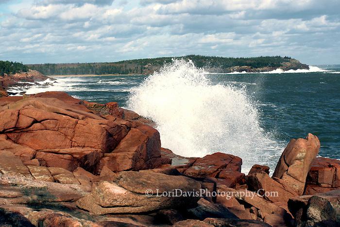 Storm Waves Crash along Ocean Drive  #A9