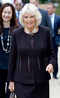 Camilla Duchess of Cornwall visits Worcester College Oxford