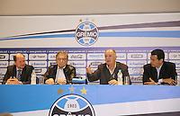Coach Luiz Felipe Scolari, Scolari's, is presented as new coach of Gremio, the club arena, in Porto Alegre (RS) on the morning of Wednesday (30). (PHOTO: PEDRO H. TESCH / BRAZIL PHOTO PRESS).