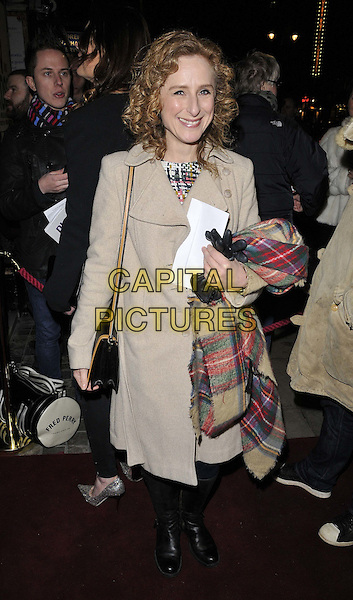LONDON, ENGLAND - JANUARY 29: Nicola Stephenson attends the &quot;Di and Viv and Rose&quot; press night, Vaudeville Theatre, The Strand, on Thursday January 29, 2015 in London, England, UK. <br /> CAP/CAN<br /> &copy;Can Nguyen/Capital Pictures