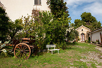 Azienda Agricola Ceraudo - farm of Ceraudo with historic chapel from 1600s, at Strongoli in Calabria, Italy